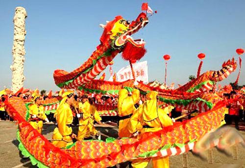 春节习俗——舞龙舞狮