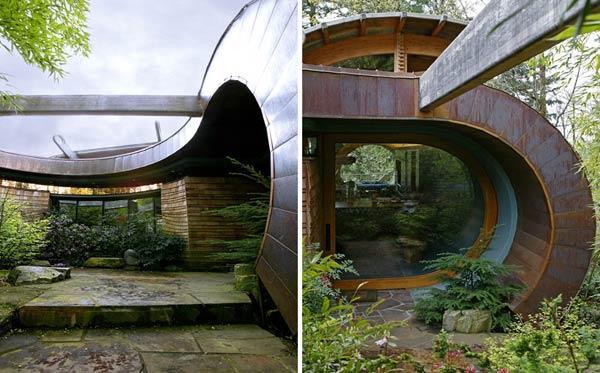 园林设计树屋平面设计图