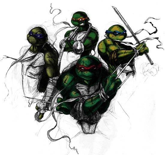 TurtlePower!忍者神龟艳艳漫画人我的爱图片