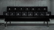 ZO loft:QWERTY键盘沙发