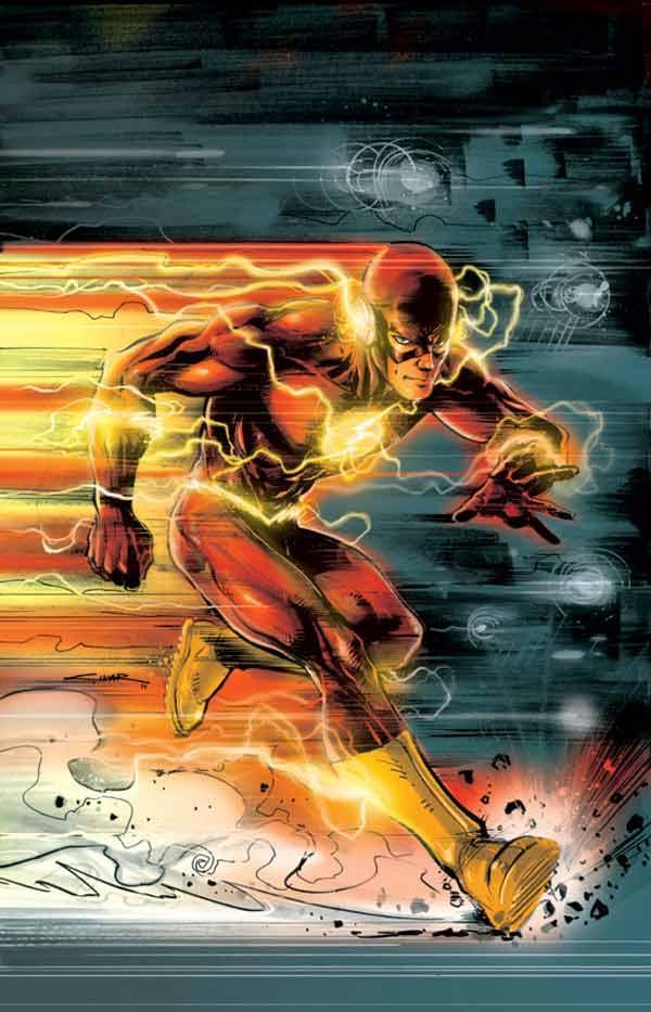 闪电侠漫画最快的速度英雄看漫画图话写a漫画图片