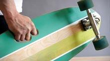 可以用手指握住的改良滑板