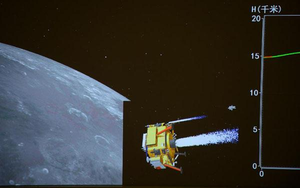 China´s Chang´e-3 probe soft-lands on moon CCTV News ...
