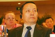 中央电视台副台长胡恩<br>在开幕式现场