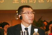 中央电视台总编室主任梁晓涛在开幕式现场