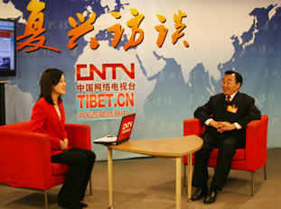 <font color=red>【复兴访谈】</font>西藏自治区党委书记张庆黎