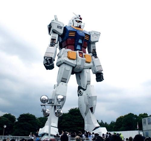 2009年在台场潮风公园展示时的情景