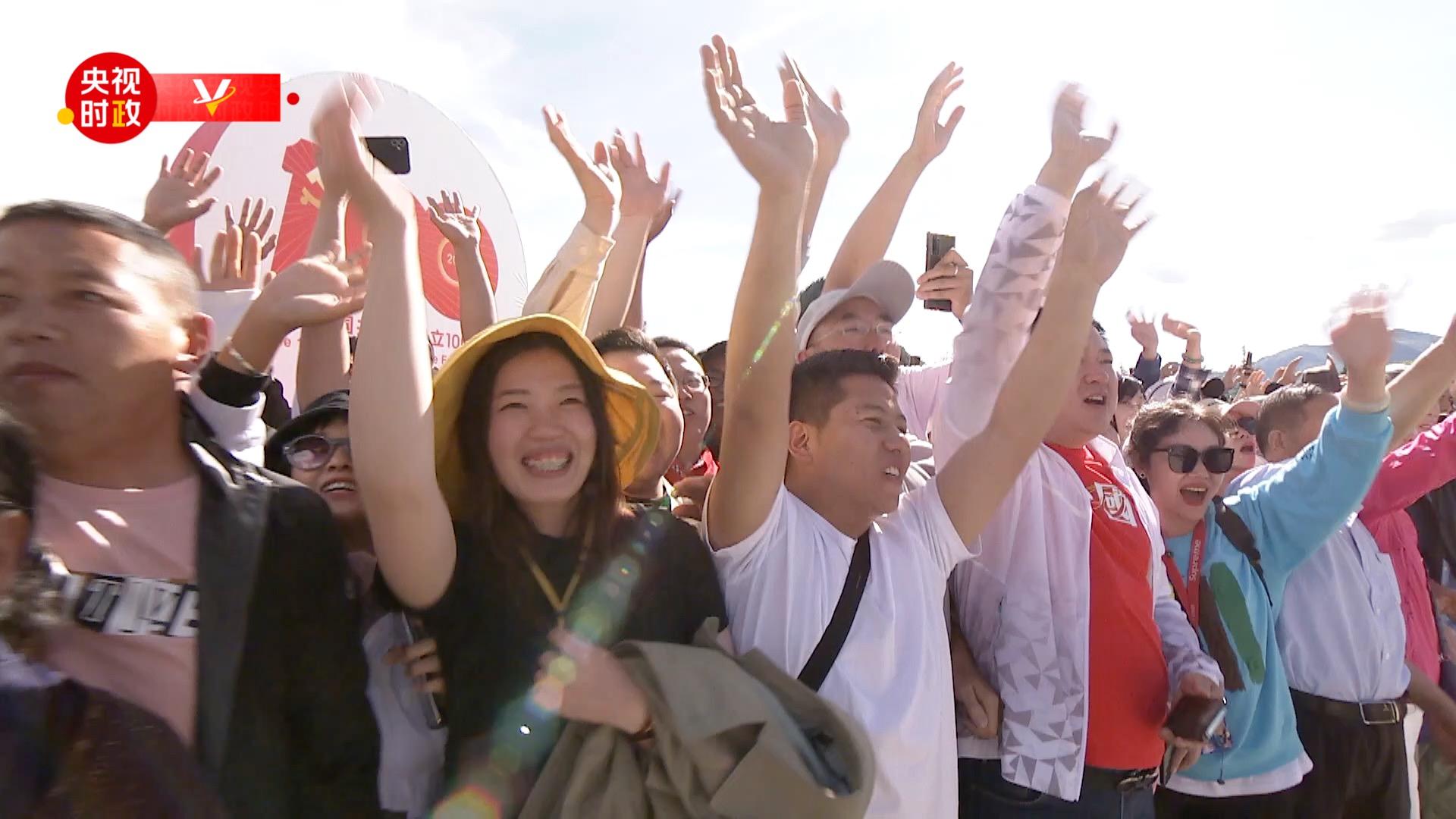 时政现场说丨在布达拉宫广场 总书记和我们话民生