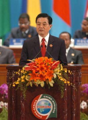 Address by President Hu Jintao at the Opening Ceremony of the Beijing Summit of the Forum on China-Africa Cooperation