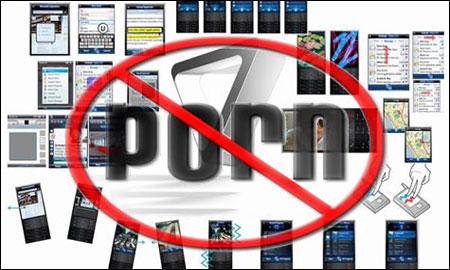 Against internet pornography
