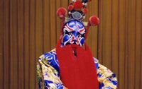 Peking Opera artist Meng Guanglu