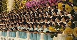 Músicas para mostrar alegrías sobre el retorno de Macao