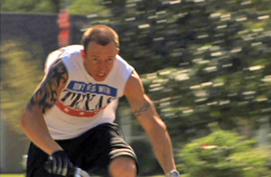 <center>美国小轮车运动员凯尔·班内特</center>