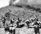 中国人民志愿军和朝鲜人民军浴血战斗