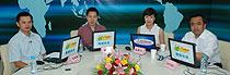 <strong>《三位嘉宾畅谈如何创业》</strong><br>  2009年6月15日,新疆维吾尔自治区副主席艾尔肯·吐尼亚孜、中央电视台经济频道总监郭振玺、三诺数码集团有限公司董事长刘志雄3位嘉宾与网友探讨关于创业、就业、择业的话题,给青年学子以激励、引导和建议。