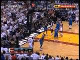2010/2011赛季NBA总决赛第六场 小牛vs热火 第4节 20110613