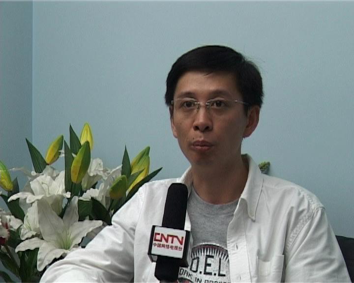 CNTV专访搜狐畅游副总裁黄纬