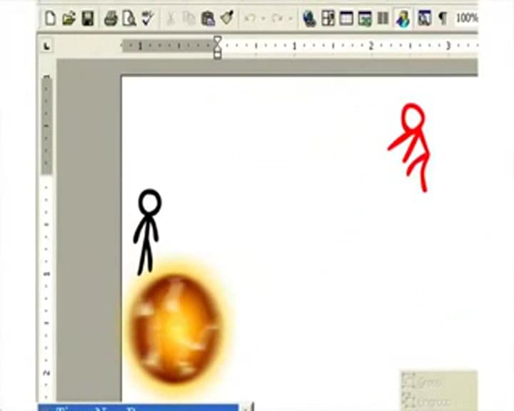 超强创意动画电脑桌面合战