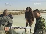 孙秀玲养螃蟹:把螃蟹养在冰下面