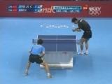 [乒乓球]男单金牌赛 张继科赢得首局鏖战
