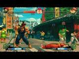 《超级街霸4》豪鬼VS元高手视频