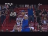 <a href=http://sports.cntv.cn/20130404/104642.shtml target=_blank>[NBA最前线]尼克斯掀翻热火 安东尼砍50分迎新生</a>