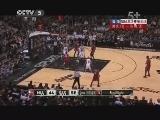 2012/2013赛季NBA总决赛第三场 热火VS马刺 第三节 20130612