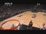 2012/2013赛季NBA总决赛第五场 热火VS马刺 第四节 20130617