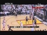 2012/2013赛季NBA总决赛第七场 马刺VS热火 第四节 20130621
