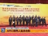 [V观APEC]APEC领导人集体合影