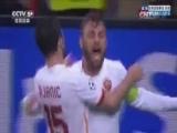 [欧冠]皮亚尼奇开出任意球 德罗西梅开二度