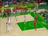 [奥运+]男篮1/4决赛 克罗地亚队VS塞尔维亚队