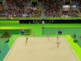 [夺金时刻]奥运会艺术体操集体全能 俄罗斯夺冠