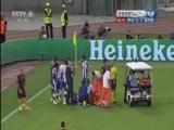 [欧冠]佩雷拉遭蹬踏 德罗西被主裁出示红牌罚下