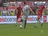 [德甲]第7轮:法兰克福2-2拜仁慕尼黑 比赛集锦