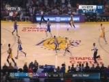 2016-17赛季NBA常规赛 勇士VS湖人 20161105