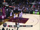 [NBA最前线]詹姆斯准三双 骑士险胜猛龙