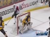 [NHL]企鹅门前陷混战 小将帕谷推射穿裆而过