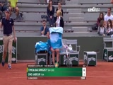 [法网]女单第三轮:大威VS梅尔滕斯 2