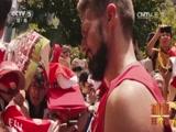 [冠军欧洲]球迷狂欢节 拜仁阿森纳球员亲切互动