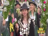 [新闻袋袋裤]德国慕尼黑啤酒节开幕 传统服装游行别具特色
