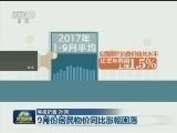 [视频]9月份居民物价同比涨幅回落