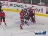 [NHL]常规赛:明尼苏达狂野VS卡尔加里火焰 比赛集锦