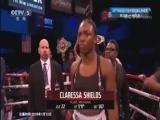 [拳击]IBF/WBC女子超中量级拳王争霸赛:希尔兹VS纳尔逊
