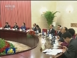 [视频]俞正声与加蓬参议长举行会谈