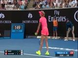 2018年澳大利亚网球公开赛 女单第二轮 哈勒普VS布查 第二盘 20180118