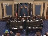 """[视频]美国联邦政府再现""""停摆""""风波"""