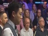 [台球]斯诺克世锦赛:丁俊晖VS巴里-霍金斯