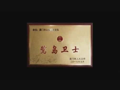 市消防支队党委 微视频彰显鹭岛卫士的忠诚担当 00:03:20
