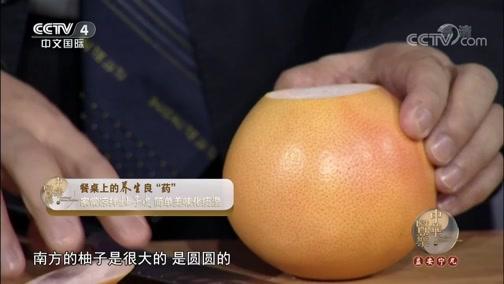 凉拌柚子皮与川贝枇杷膏 中华医药 2018.09.15 - 央视栏目 00:10:55